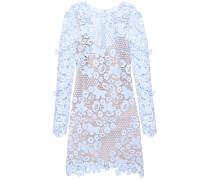 Kleid 3D Floral Mini mit Guipure-Spitze