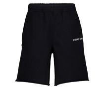 Shorts aus Baumwolle