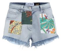 Paula's Ibiza Verzierte Jeansshorts