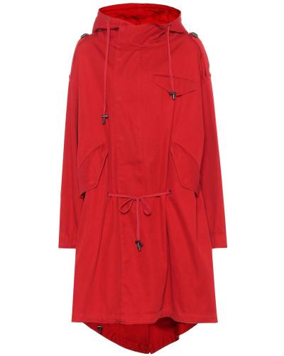 Mantel Duffy aus Baumwoll-Twill