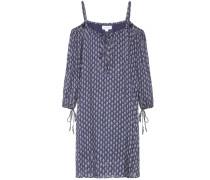 Schulterfreies Kleid Genna mit Print
