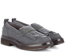 Loafers aus Filz