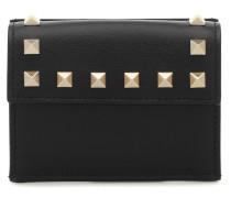 Portemonnaie Rockstud Mini aus Leder