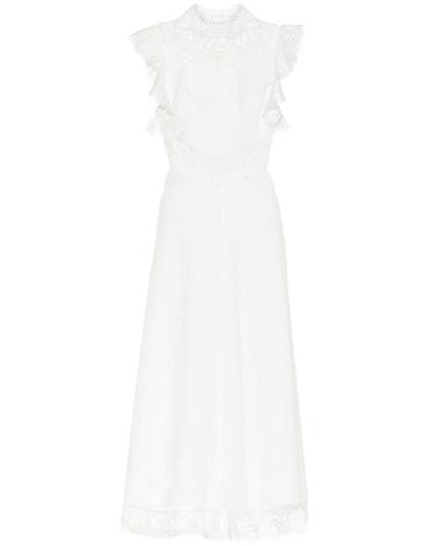 Kleid Peggy aus Leinen und Baumwolle
