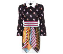 Bedrucktes Kleid Spirit aus Baumwolle