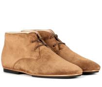Ankle Boots Gomma aus Veloursleder