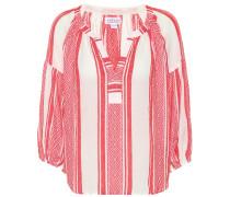 Verzierte Bluse Britt aus Baumwolle