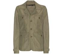 Jacke aus Baumwolle
