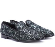 Loafers Mario aus Glitter