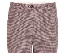 Shorts mit Pepita-Karomuster