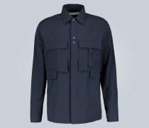 Hemd aus Baumwoll-Seersucker