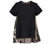 X KAWS T-Shirt aus Jacquard