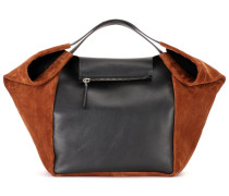 Tote Shopping With Zip aus Leder