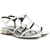 Sandalen Casati aus Lackleder