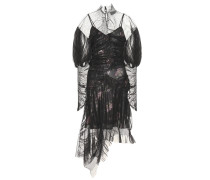 Asymmetrisches Kleid Ambrose mit Tüll