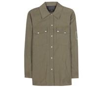 Hemd Military aus einem Baumwollgemisch