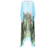 Exklusiv bei mytheresa.com – Langes Seidenkleid im Kaftan-Stil mit Print