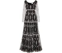Besticktes Kleid Deborah aus Seide