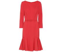 Kleid aus Wolle mit Stretchanteil