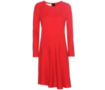 Kleid aus Crêpe aus einem Woll-Seidengemisch