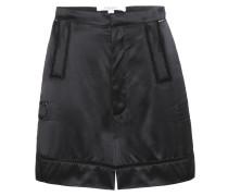Shorts aus Seidensatin