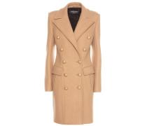 Mantel aus Schurwolle und Cashmere