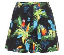 Gemusterte Shorts aus Stretch-Baumwolle