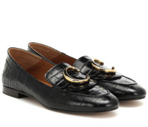 Loafers C aus Leder