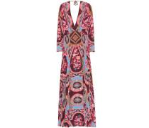 Bedrucktes Kleid mit Stretch-Anteil