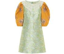 Minikleid aus Brokat