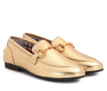 Loafers Princetown aus Leder
