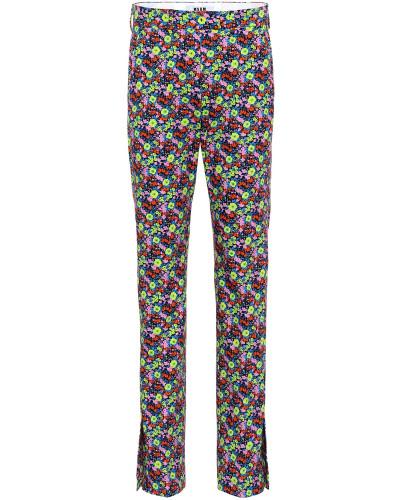 Bedruckte Hose aus Baumwolle