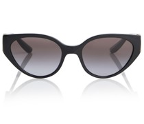 Cat-Eye-Sonnenbrille DG Crossed