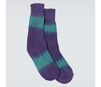 Socken aus Baumwolle