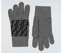 Handschuhe FF aus Wolle