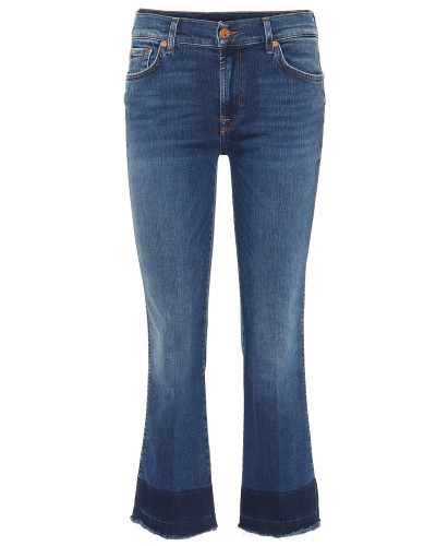 Cropped Jeans Slim Illusion