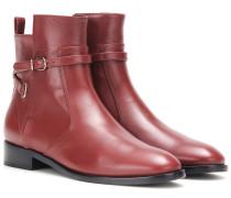 Ankle Boots Papier Chelsea aus Leder