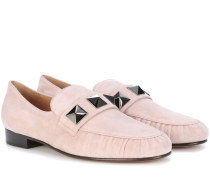 Garavani Loafers aus Veloursleder