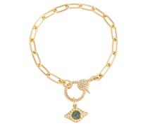Armband Eye aus 14kt Gold mit Diamanten