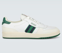 Leder-Sneakers Court
