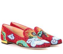 Loafers Dragon aus Jacquard