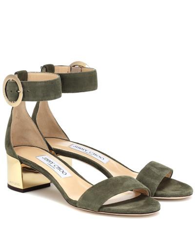 Sandalen Jamie 40 aus Veloursleder