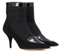 Ankle Boots Alana mit Veloursleder