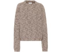 Pullover Sandy Mouliné aus einem Wollgemisch