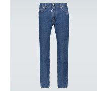 Skinny Jeans Diagonal Arrow