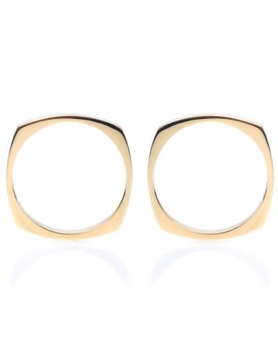Ohrringe Aro aus 9kt Gelbgold