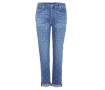 Boyfriend-Jeans Josefina aus Stretch-Baumwolle