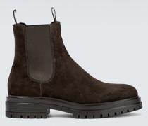 Ankle Boots Chester aus Veloursleder