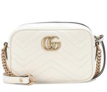Crossbody-Tasche GG Marmont aus Leder