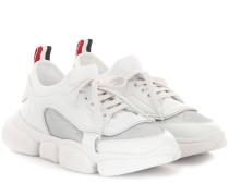 Sneakers Biseis mit Lederanteil